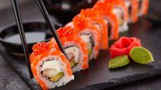 El sushi tiene pocas calorías
