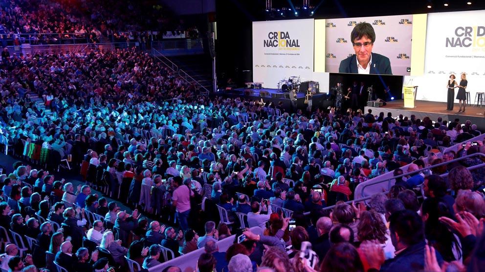 La presentación oficial de la Crida Nacional, el nuevo partido de Carles Puigdemont