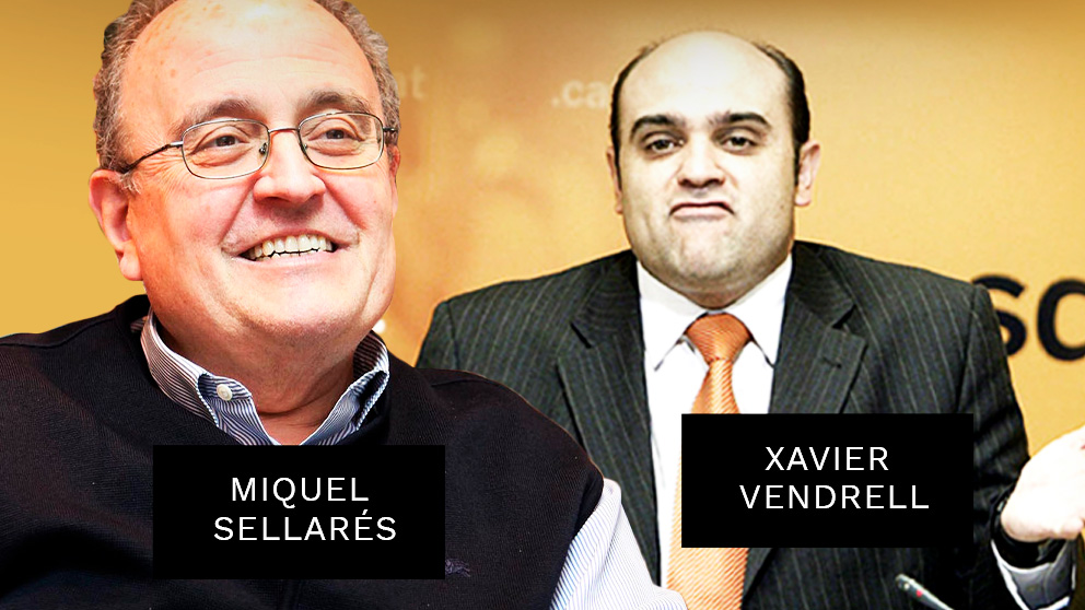 El ex director de Seguridad Ciudadana de Pujol Miquel Sellarés y el antiguo terrorista de Terra Lliure Xavier Vendrell.