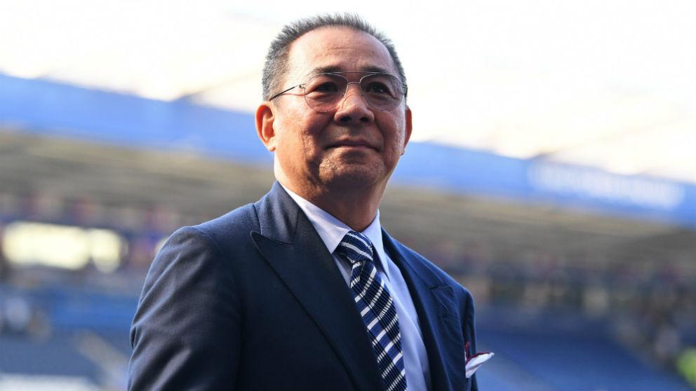 Vichai Srivaddhanaprabha, propietario del Leicester. (Getty)
