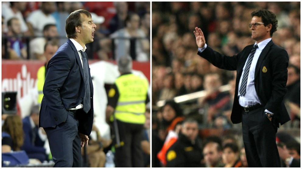 Julen Lopetegui buscar resurgir en el Camp Nou, como hizo Capello en 2007. (AFP)