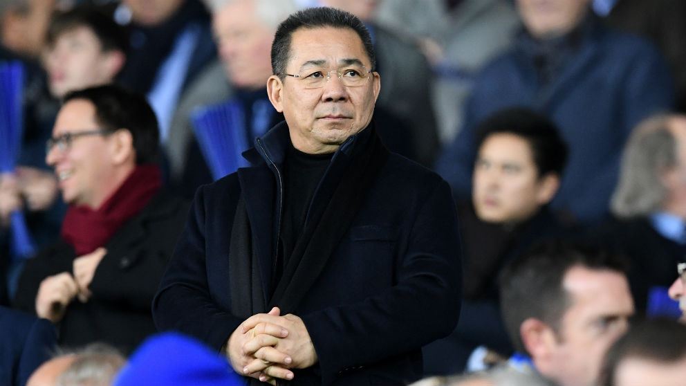 Vidai Srivaddhanaprabha, en un partido de Leicester. (AFP)