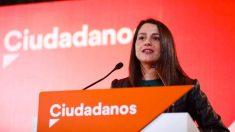 La portavoz nacional de Ciudadanos, Inés Arrimadas, en una imagen reciente. (Foto: Ciudadanos)