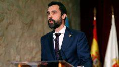 El presidente del Parlamento catalán, Roger Torrent, en una imagen reciente (EFE).