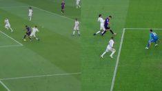 Varane comete penalti sobre Luis Suárez en el Clásico Barcelona – Real Madrid.