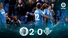 El Getafe vence al Betis. (EFE)