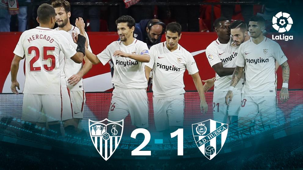 Resultado Sevilla Huesca