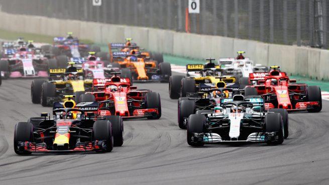 Lewis Hamilton se hizo con el pentacampeonato del mundo en el GP de México (Getty)