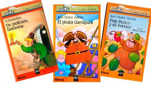 Tres títulos emblemáticos de la colección infantil El Barco de Vapor, de la editorial SM.