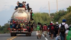 Caravana de inmigrantes Estados Unidos (Foto: AFP)