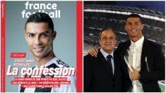 Cristiano rompe su silencio en una entrevista en 'France Football'. (AFP)