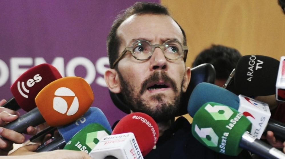El político Pablo Echenique. (Foto. Podemos)
