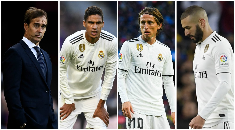 Los retratados del Camp Nou. (Getty / AFP)
