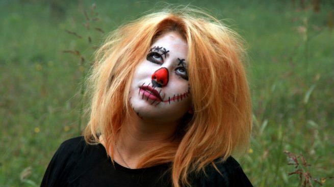 maquillaje realista de miedo