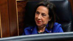 La ministra de Defensa y exportavoz del PSOE en el Congreso, Margarita Robles. Foto: EFE