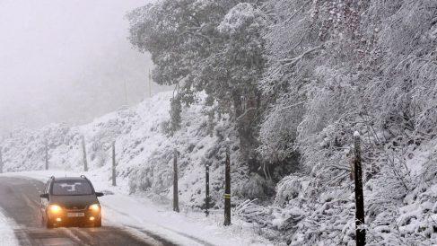 Hoy se esperan nevadas en España.
