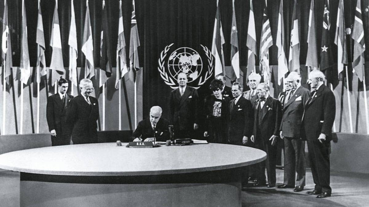 Formación de la ONU