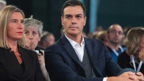 Pedro Sánchez, el presidente del Gobierno el pasado sábado en Milán