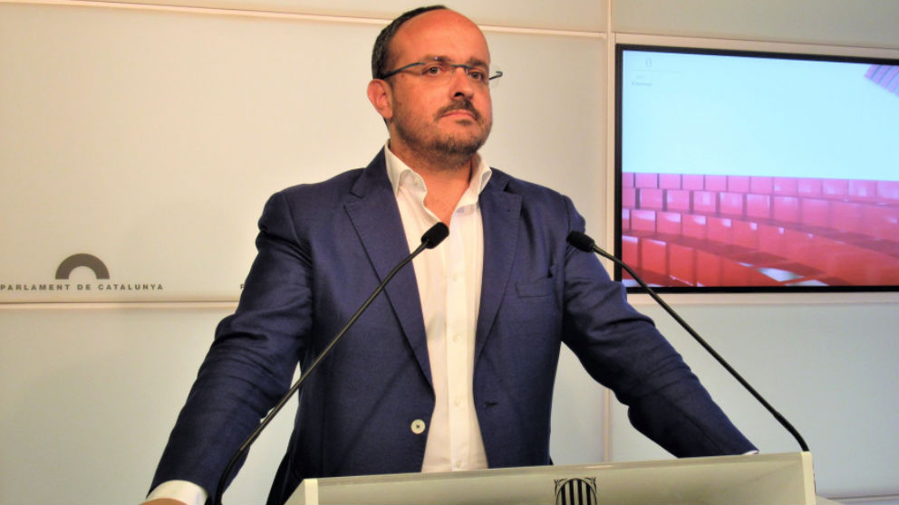 Alejandro Fernández, líder del PP catalán (EP).