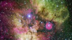 Así es NGC 2467, una nebulosa con forma de calavera