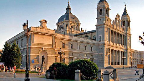Catedral de La Almudena en Madrid.