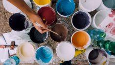 Saber diluir pintura acrílica es muy importante para obtener buenos resultados