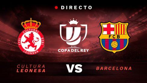 Cultural Leonesa – Barcelona: partido de la Copa del Rey 2018-19.