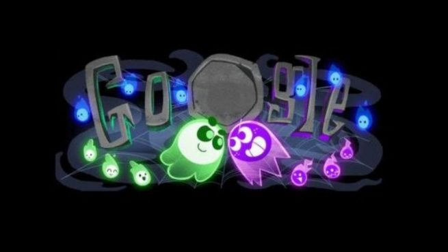 Google Doodle celebra Halloween primer juego multijugador