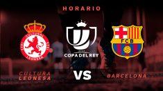 Copa del Rey 2018-19: Cultural Leonesa – Barcelona | Horario del partido de fútbol de Copa del Rey.