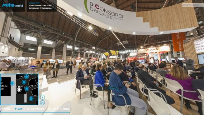 Barcelona Meeting Point 2018 lanza un tour virtual 360º para dar continuidad a su exitosa edición