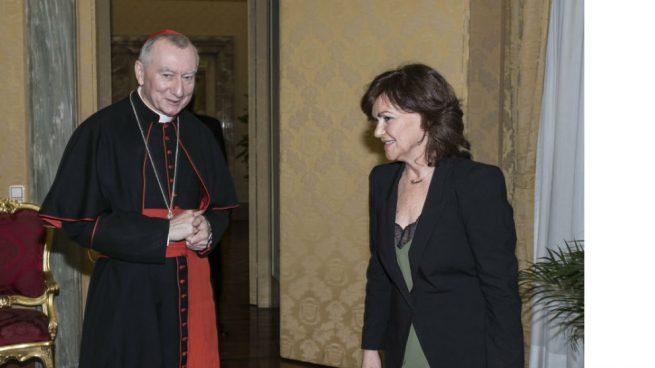 Calvo no se siente desautorizada por el Vaticano: «En absoluto»