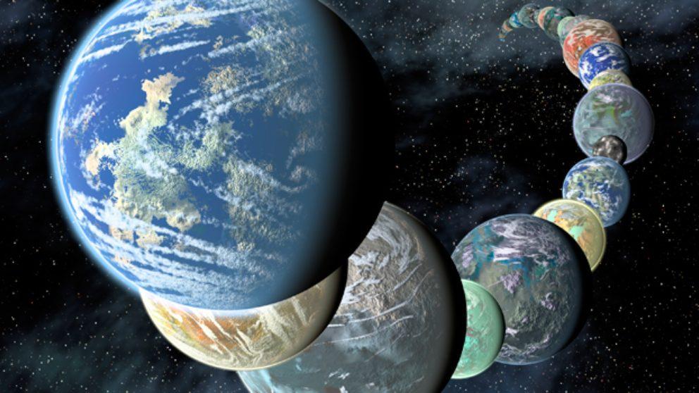 Cómo se hace una clasificación de planetas y exoplanetas