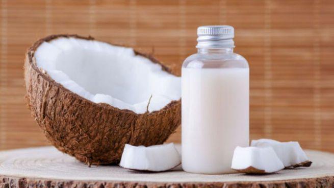 aceite de coco celulitis