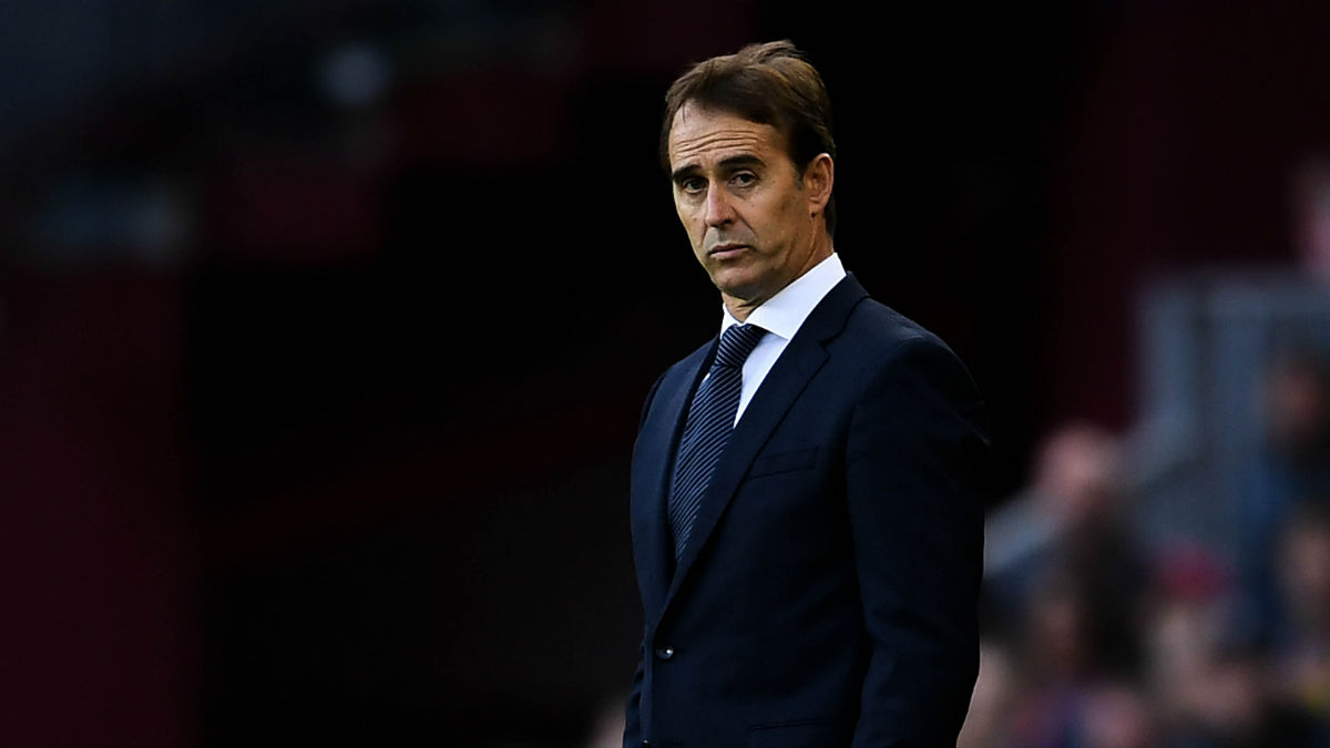 Julen Lopetegui. (Getty)