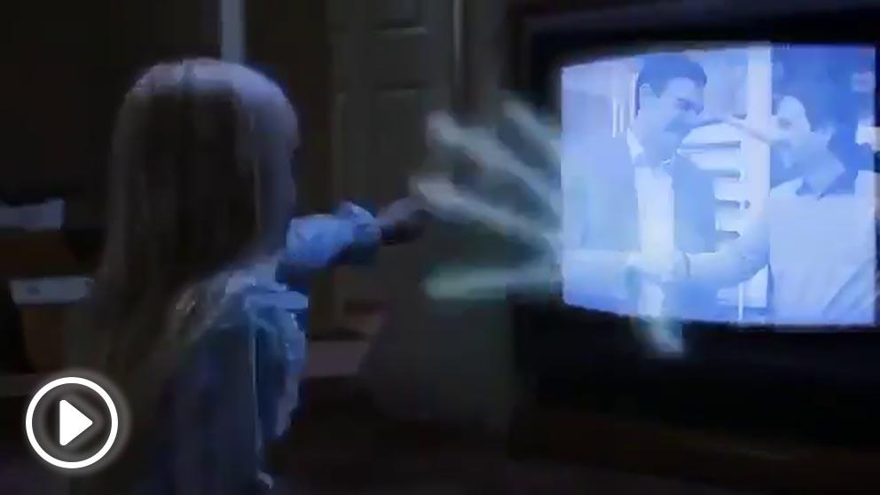 Captura del vídeo del PP.