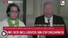 """Un vídeo de la TV argentina se burla de quienes imponen el """"lenguaje inclusivo""""."""