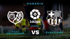 Liga Santander 2018-2019: Rayo Vallecano – Barcelona | Horario del partido de fútbol de Liga Santander