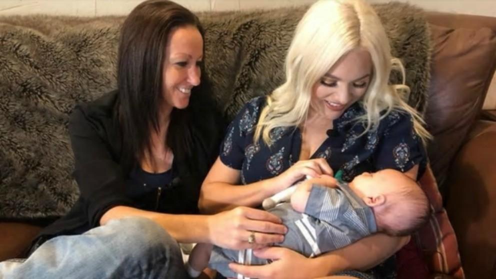 Increíble dos mujeres han llevado en su vientre al mismo bebé