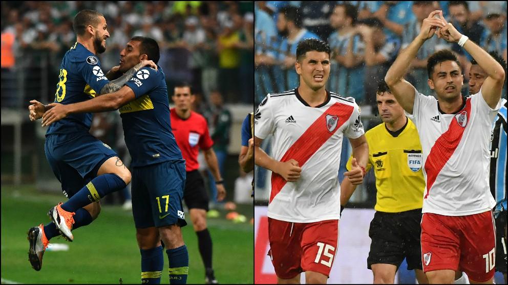 Boca Juniors y River Plate se enfrentan en la final de la Copa Libertadores.