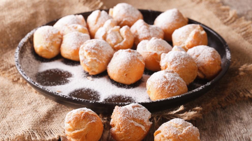 Receta de buñuelos de naranja
