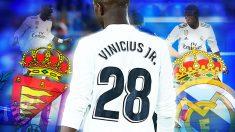 Vinicius Jr. tendrá minutos en el Bernabéu contra el Valladolid.