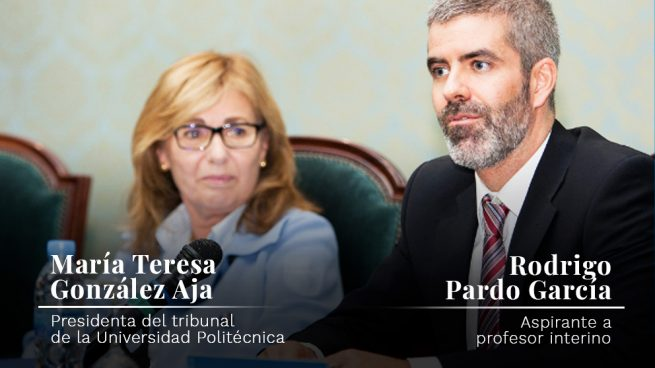 Un tribunal de la Universidad Politécnica adjudica una plaza de profesor al cuñado de la presidenta