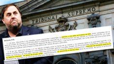 La Fiscalía 'generosa' con Junqueras. Se inclina por la pena inferior del tipo de rebelión