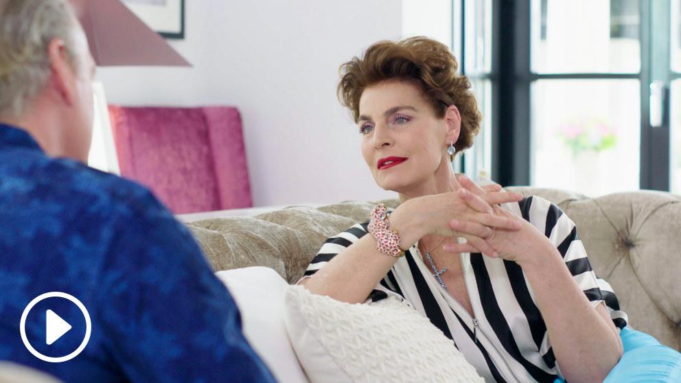Antonia Dell'Atte y Boris en 'Mi casa es la vuestra'
