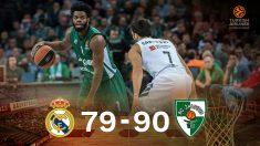 El Real Madrid venció en la complicada cancha de Kaunas.