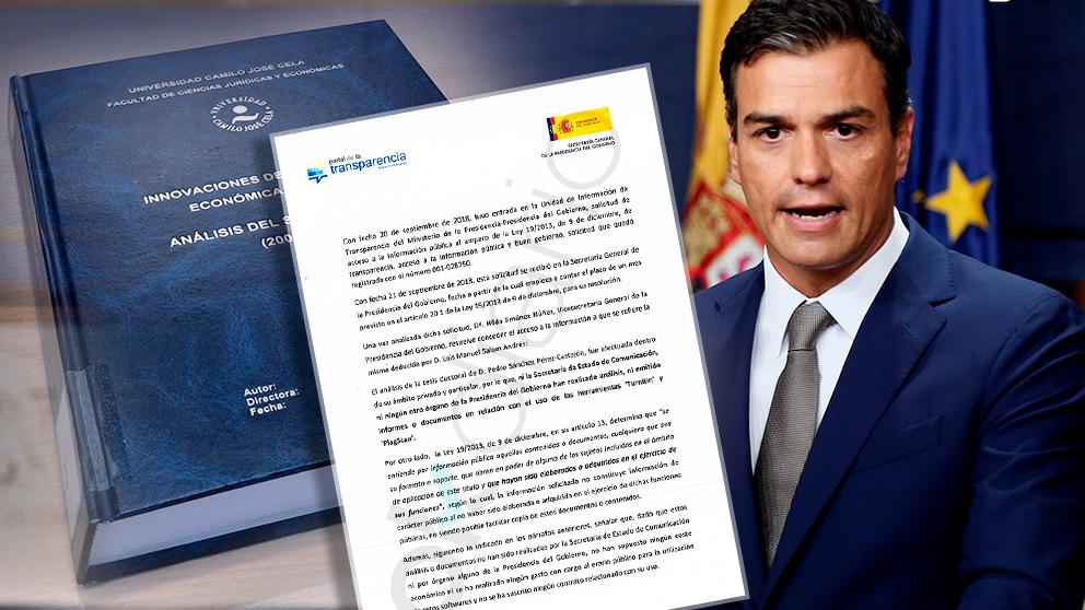 Pedro Sánchez y su tesis doctoral