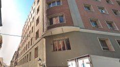 La antigua sede de CCOO en el barrio madrileño de Malasaña que el grupo neonazi de Hogar Social Madrid ha 'okupado'.