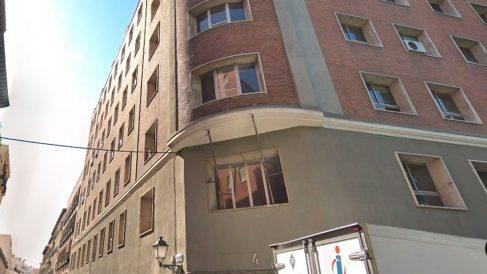 Uno de los edificios ocupados por Hogar Social