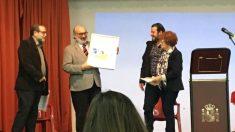 """José María Noguerol recibe el Premio """"Café Español""""."""