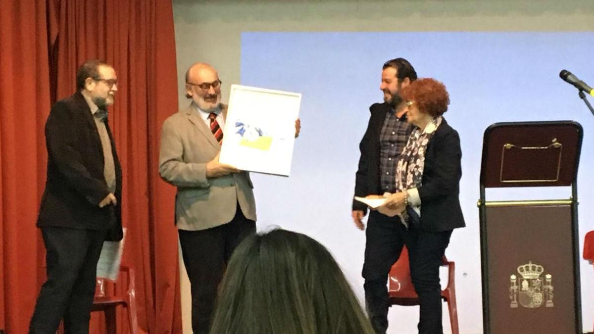 José María Noguerol recibe el Premio «Café Español».